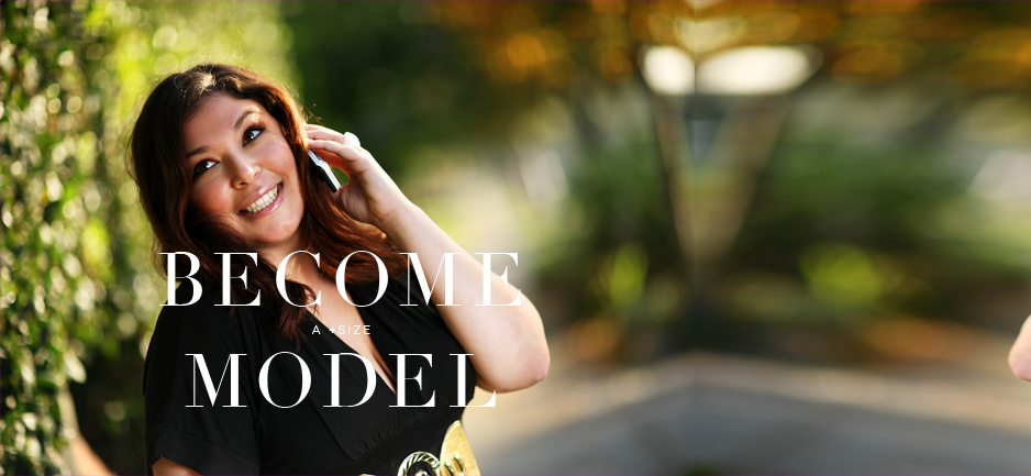 Become a +Size Model with Luxe Models